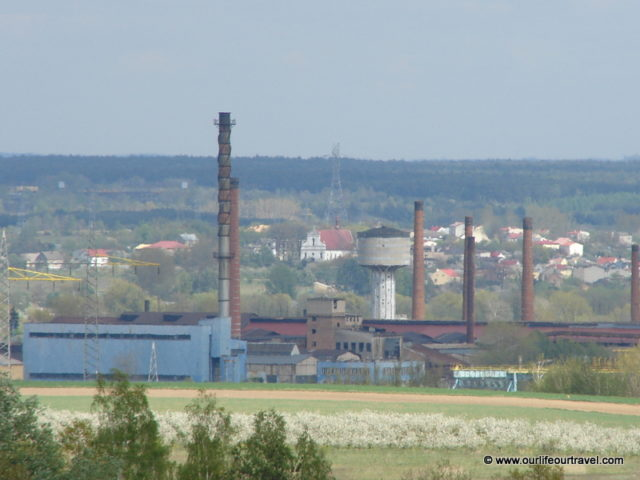 The old steel factory