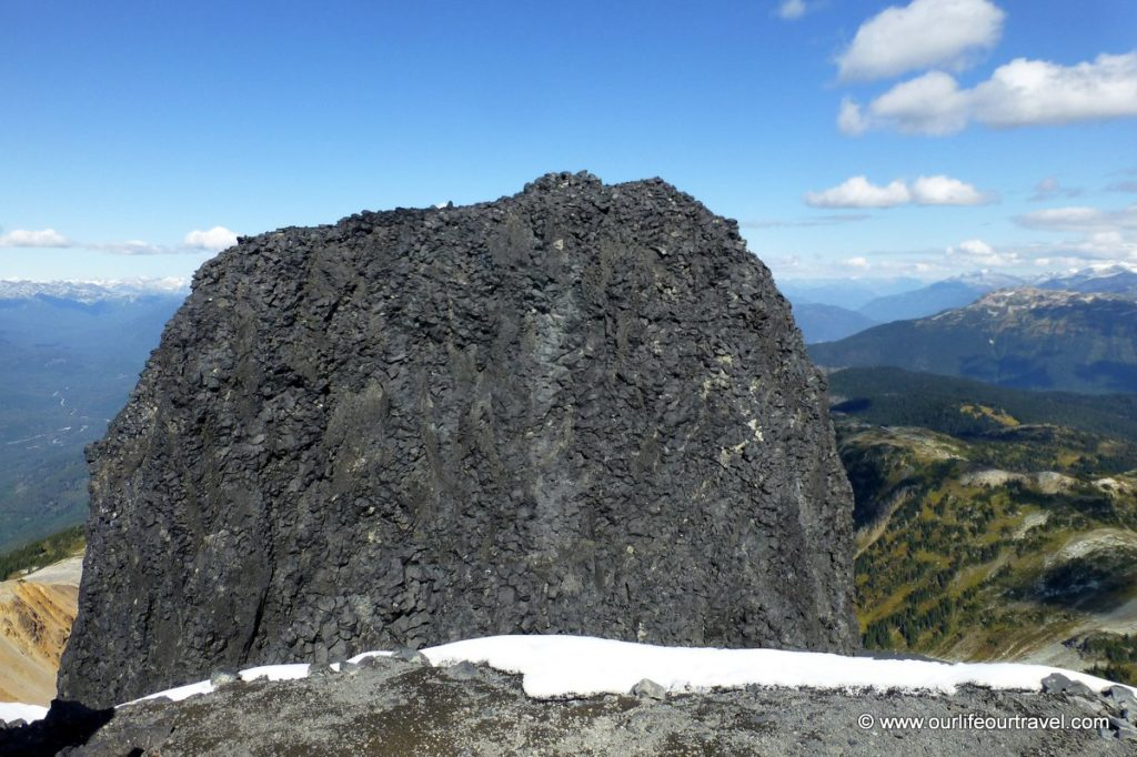 Hiking guide to the volcanic black tusk vancouver our life our actual peak sciox Choice Image